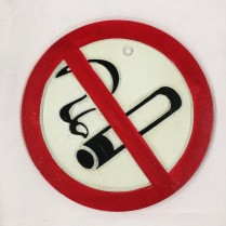 Rautakyltti No smoking cs-13